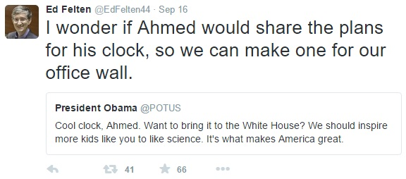 File:I wonder if Ahmed would share the plans for his clock, so we can make one for our office wall.jpg