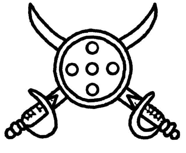 File:Indian Election Symbol Two Swords and Shield png