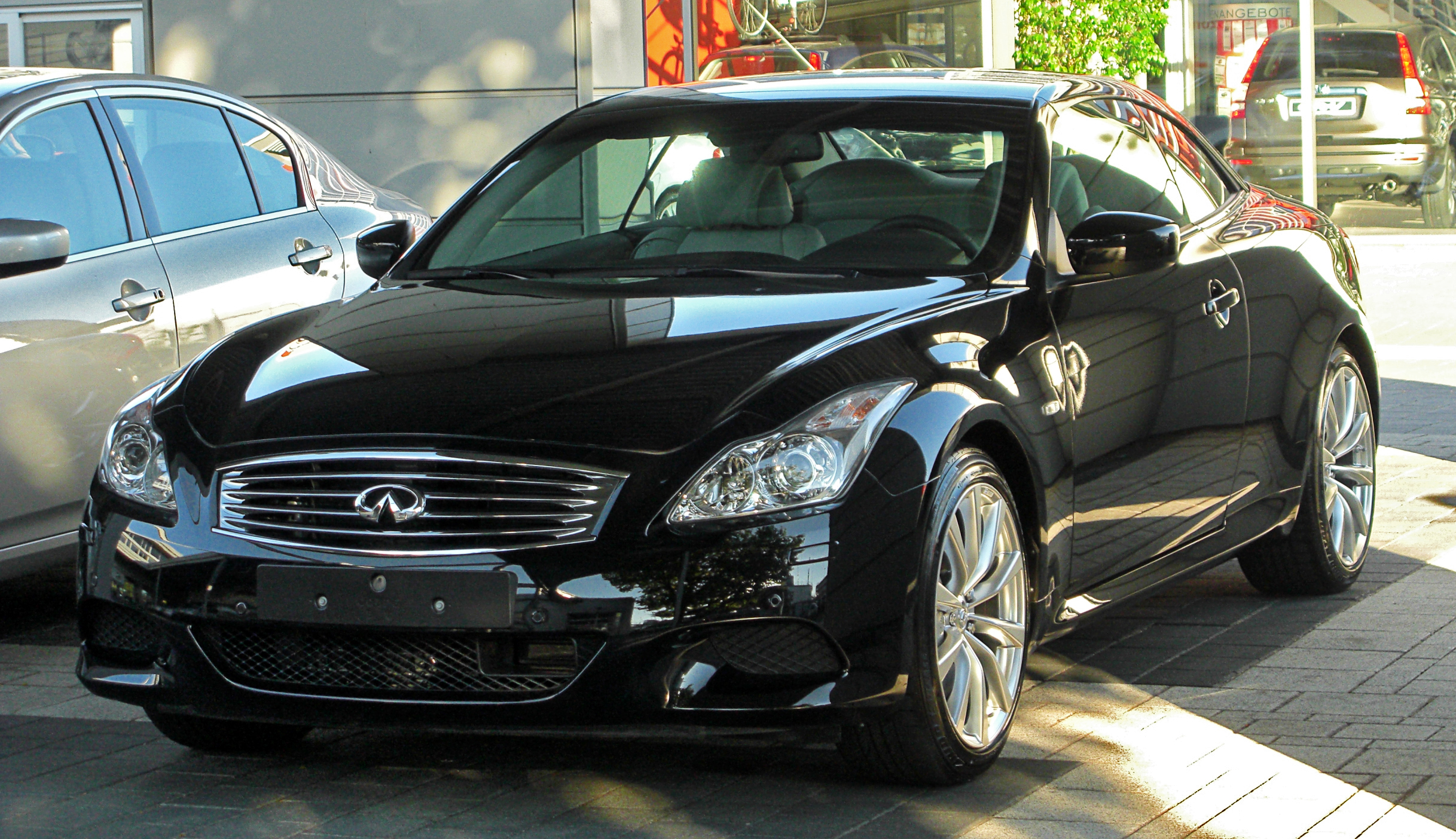 file infiniti g37 cabriolet v36 front wikimedia commons. Black Bedroom Furniture Sets. Home Design Ideas
