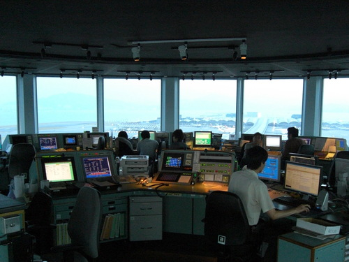 The Gallery For Gt Inside Air Traffic Control Tower