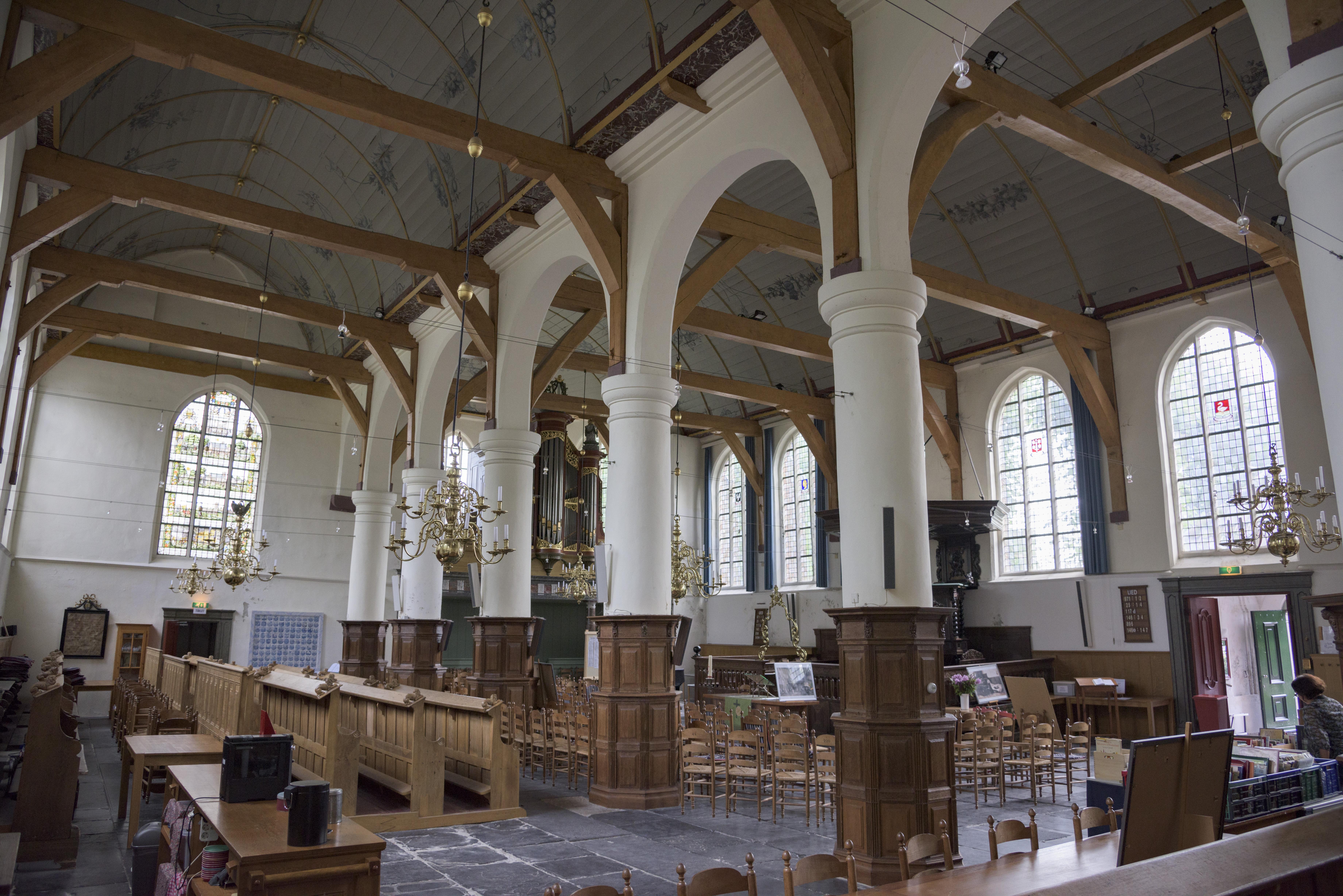 Interieur Broeker Kerk%2C Broek in Waterland hnapel 003 - Broeker Kerk Broek In Waterland