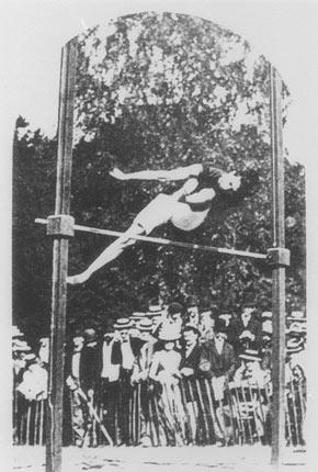מהו שיא העולם בקפיצה לגובה?