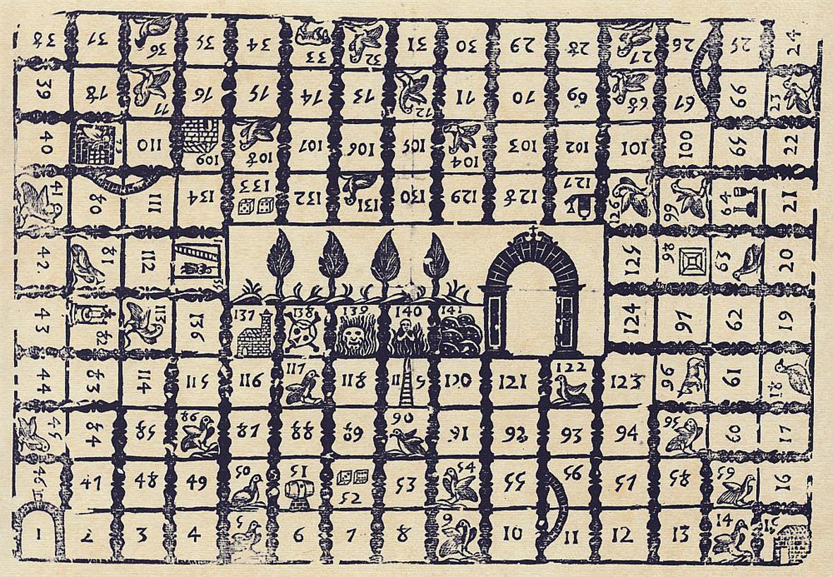 San giacomo di compostela e il simbolismo del gioco dell 39 oca for Gioco dell oca da stampare e colorare
