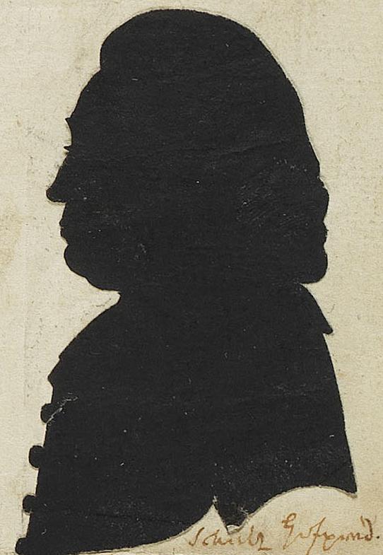 Johann Friedrich Schultz ([[Silhouette