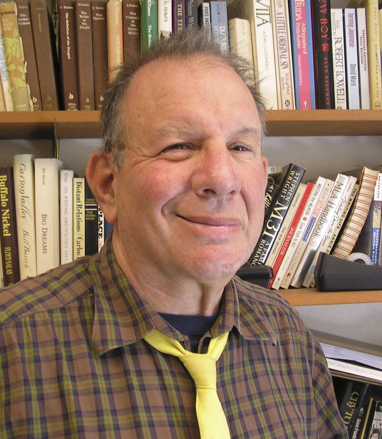 Jonah Raskin, May 2005; photograph by Daniel Raskin