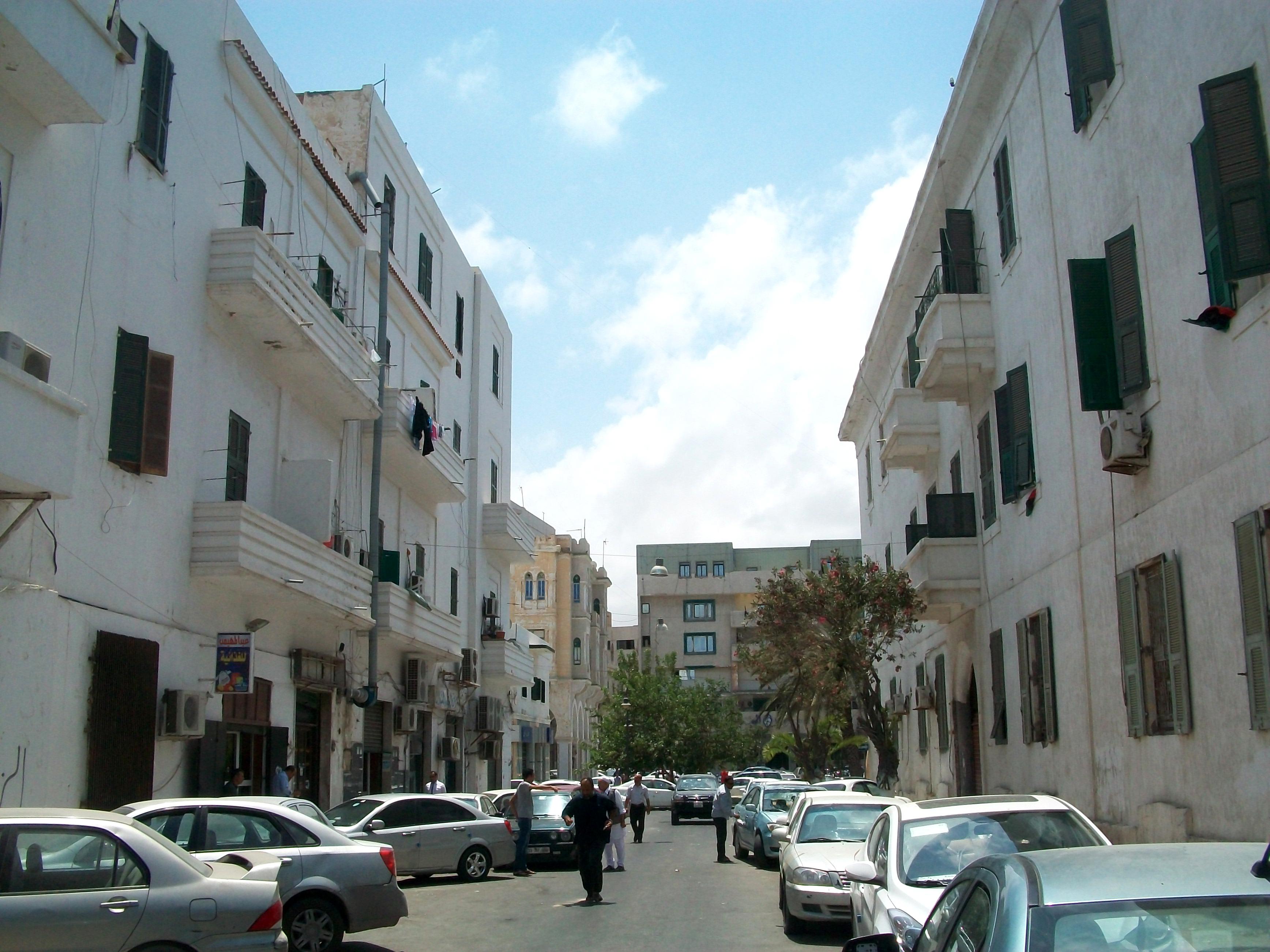 File Kabul Street Tripoli Libya Jpg Wikimedia Commons