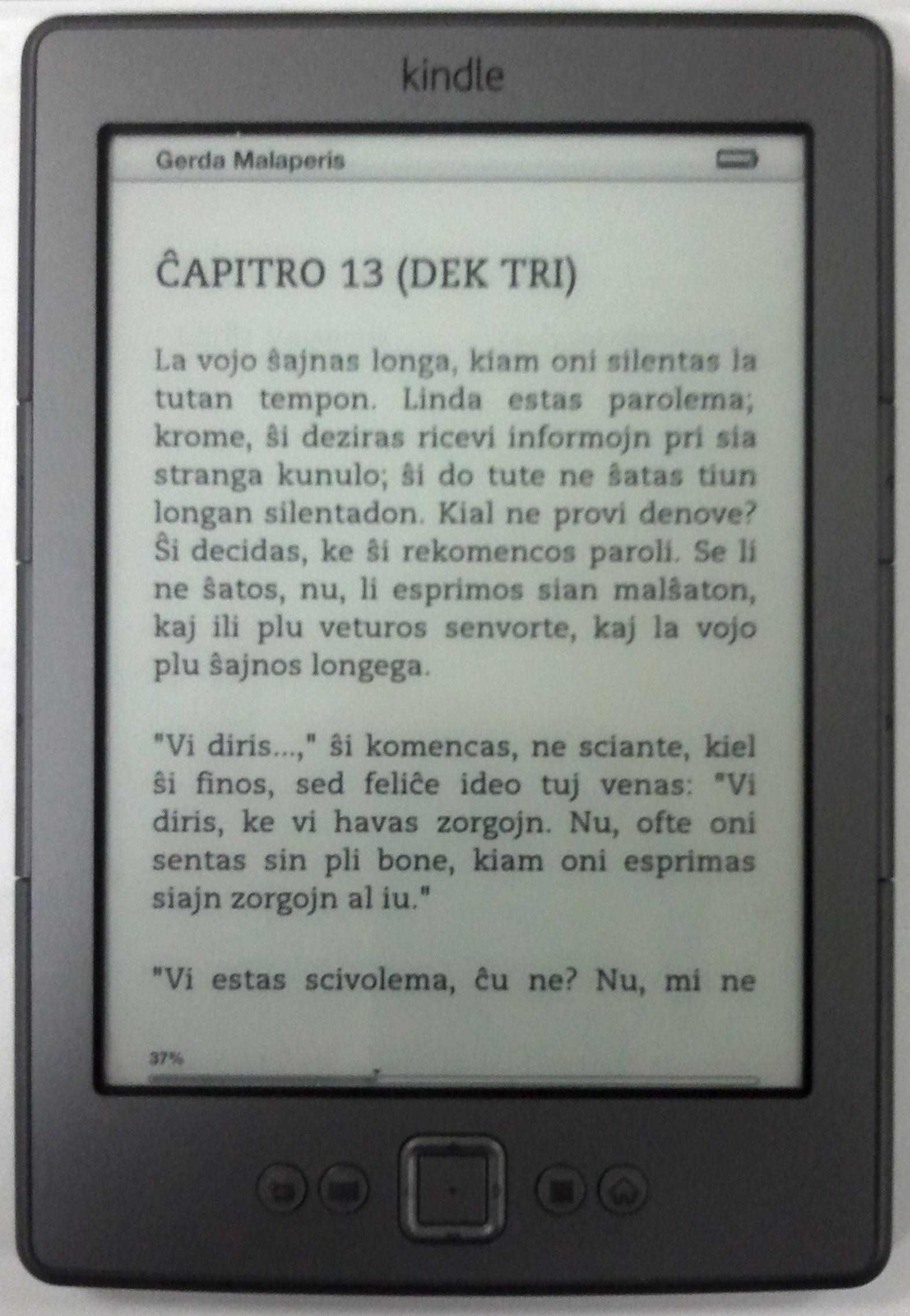 Kindle 4[edit]