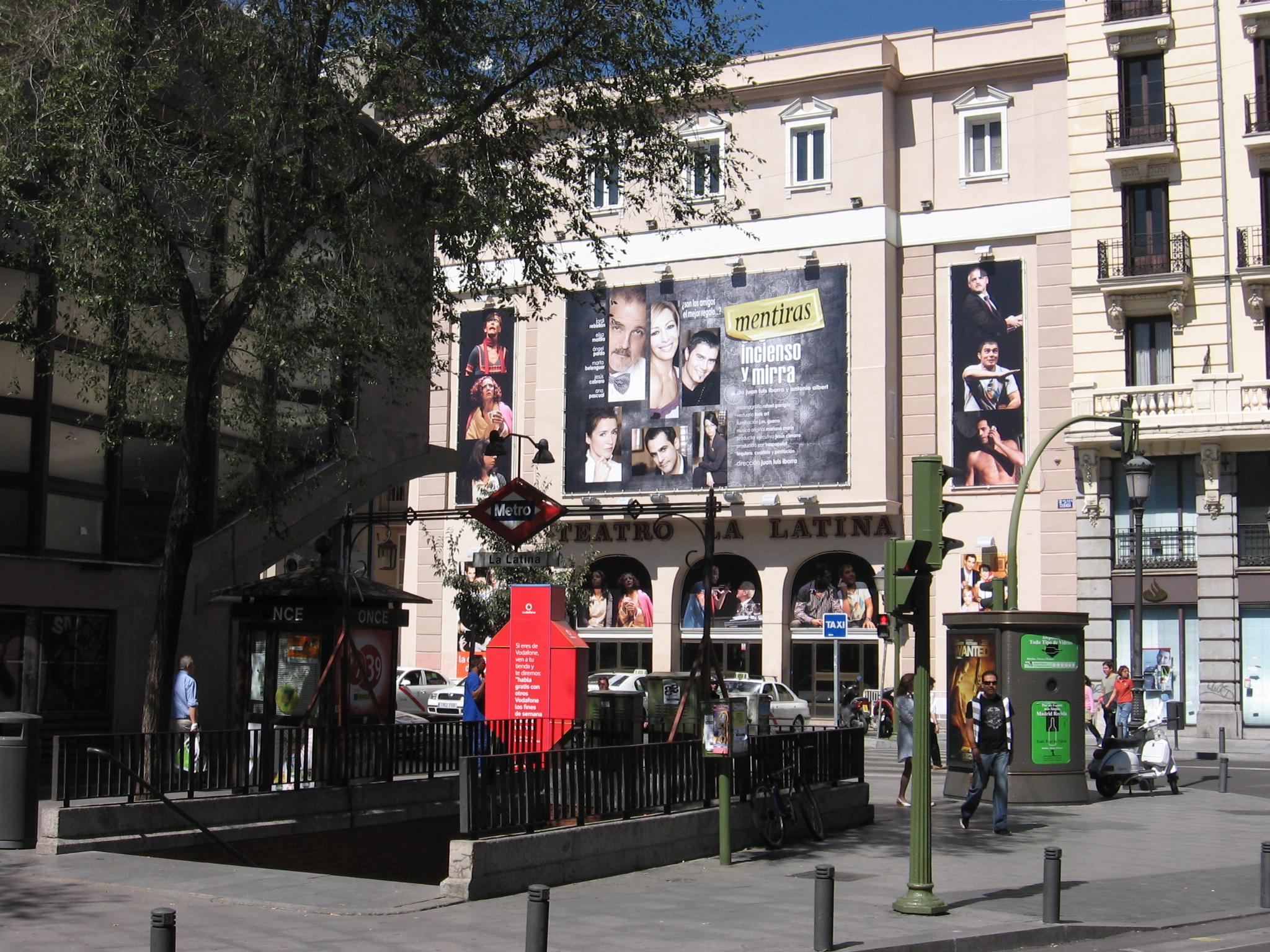 Quartier de La Latina, Madrid
