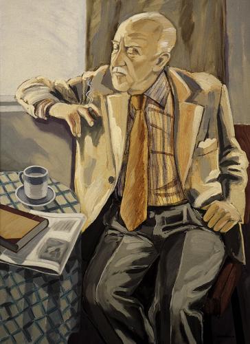 Laxness portrett einar hakonarson 1984.jpg