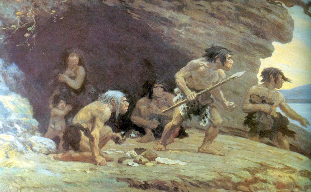 Le Moustier Neanderthals, AMNH