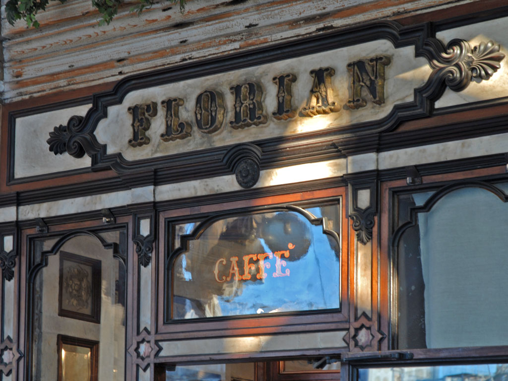 Cafe Florian Place Saint Marc Venise