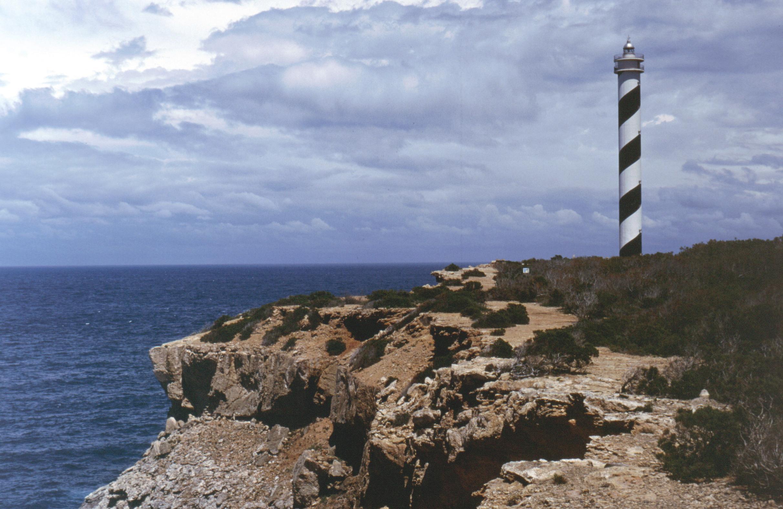 Punta Moscarter Lighthouse in Ibiza