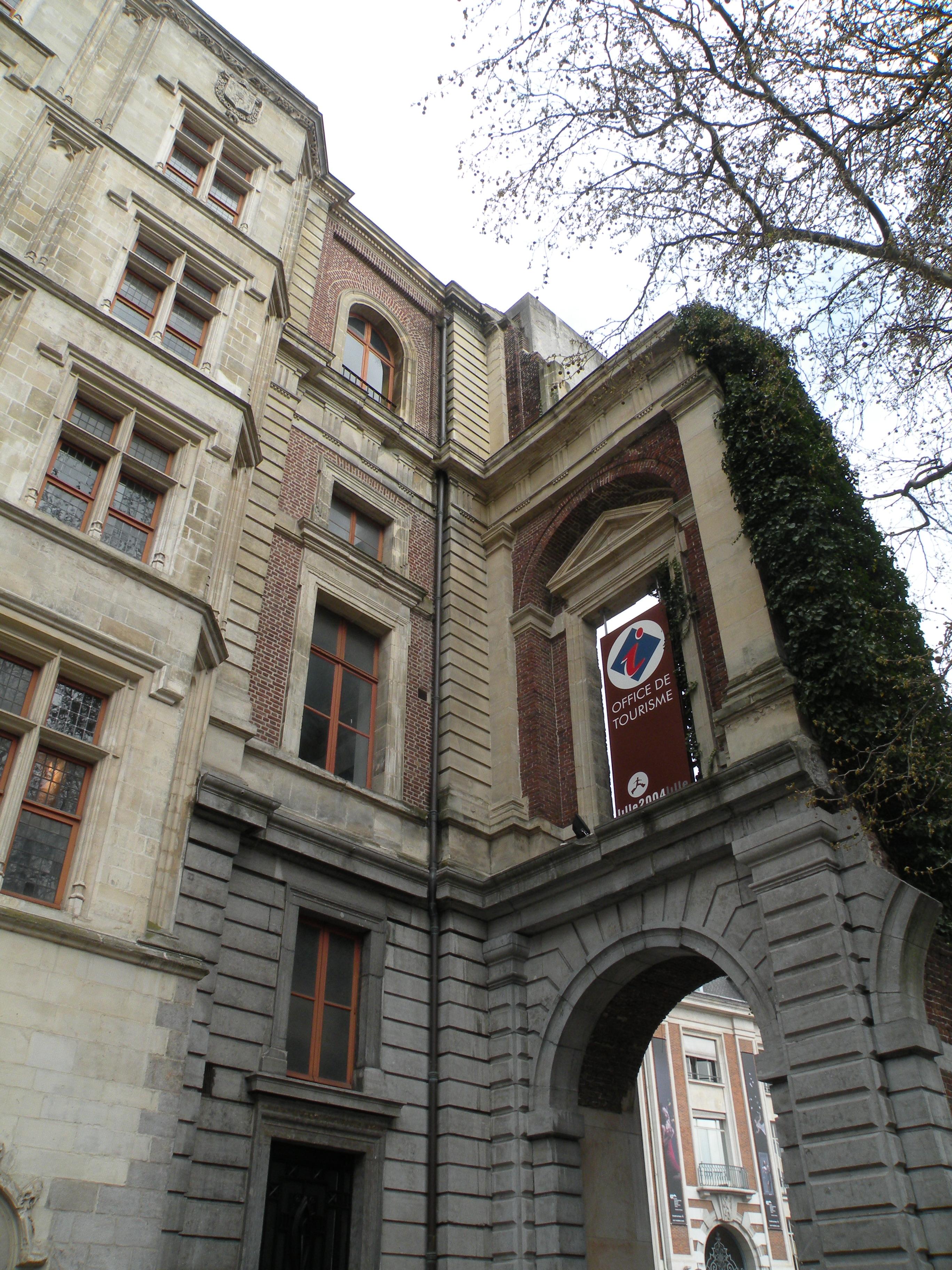 Filelille Palais Rihour Archejpg Wikimedia Commons