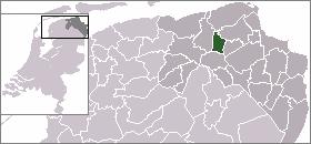 Location of Bedum