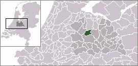 Oud-Zuilen Town in Utrecht, Netherlands