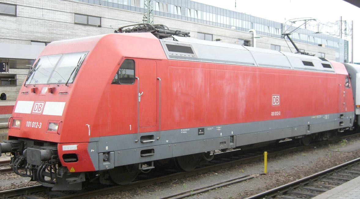 E-Lok in Saarbrücken