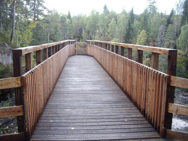 Look-out platform over Plodda Falls - geograph.org.uk - 1537737