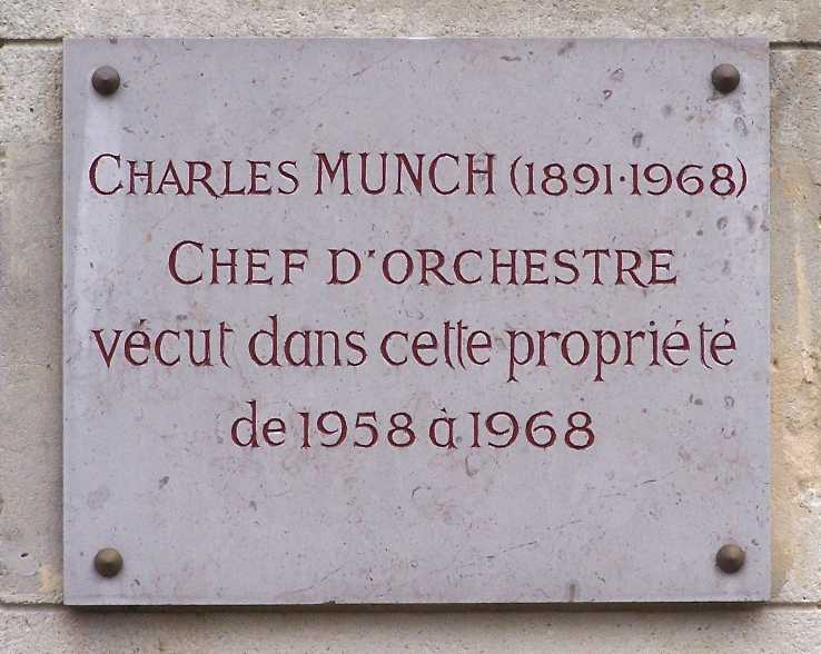 Charles Munch (conductor)