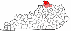 Map of Kentucky highlighting Northern Kentucky.png