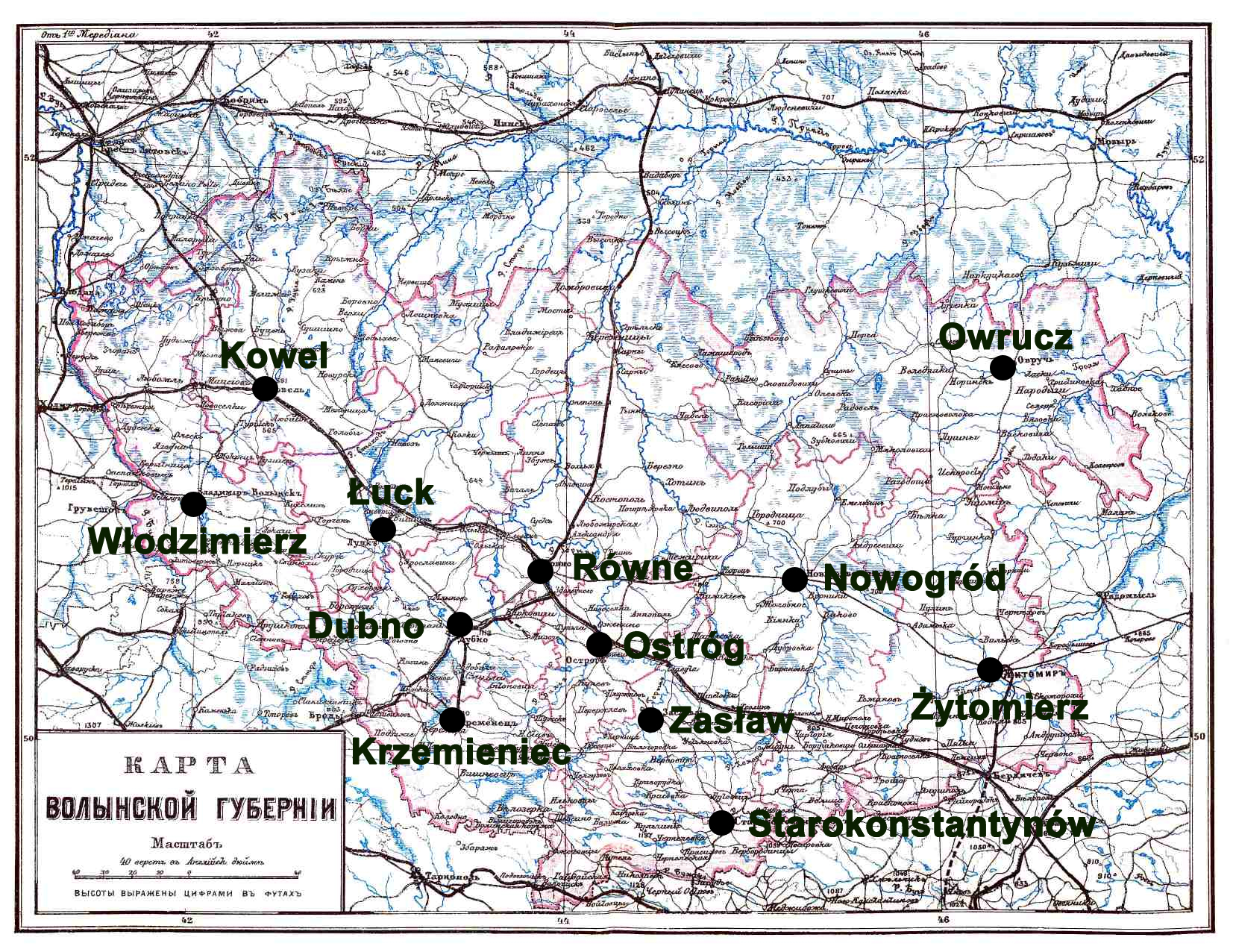 File Mapa Wolynia Jpg Wikimedia Commons