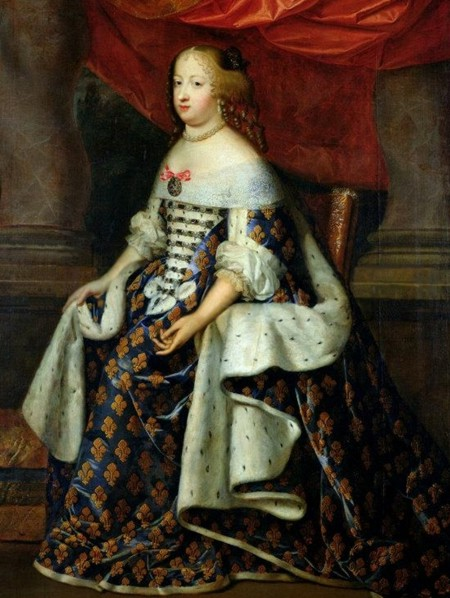 Marie Thérèse of Austria in state robes as Queen of France (Versailles)