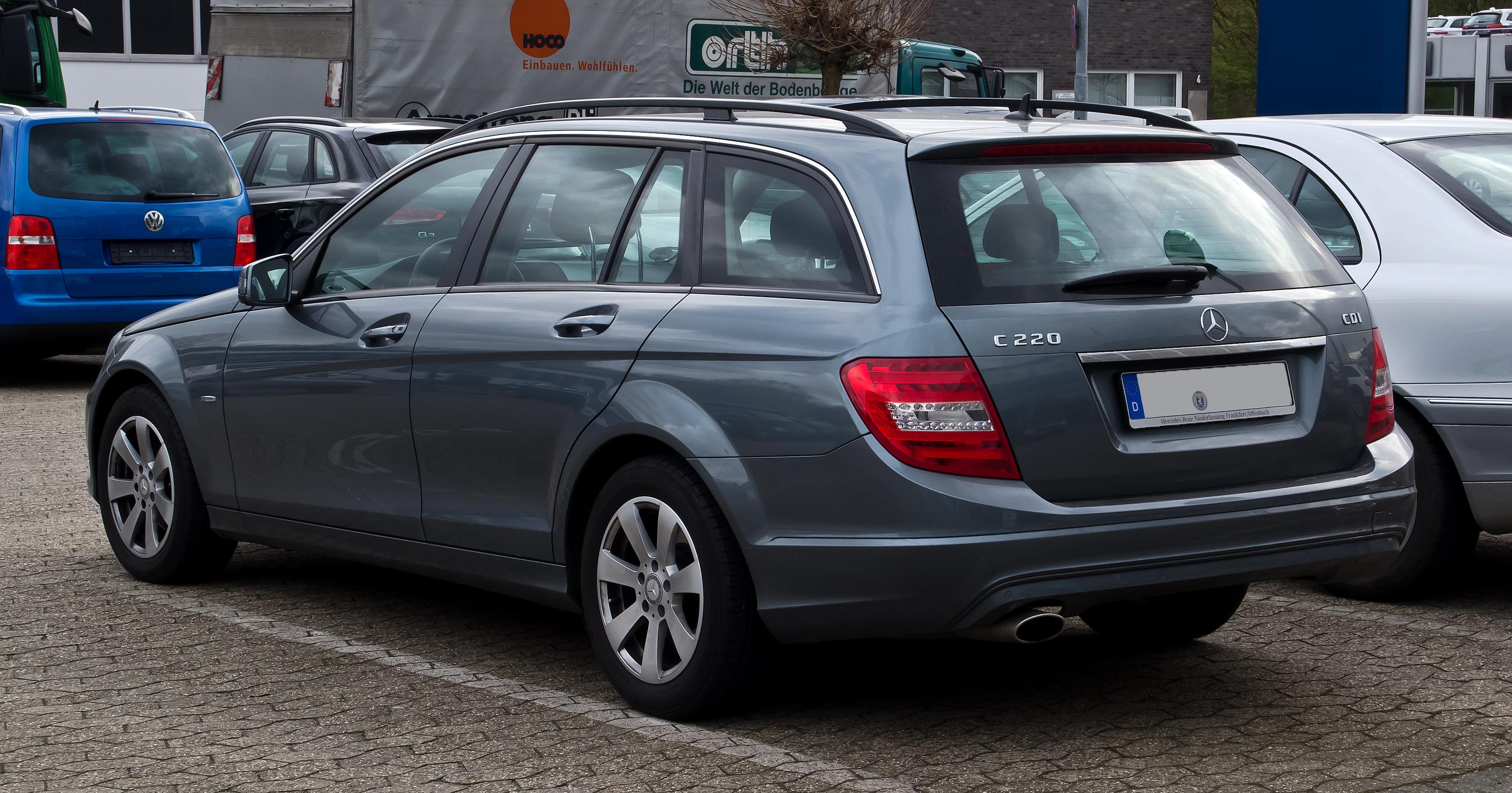 File Mercedes Benz C 220 Cdi Blueefficiency T Modell