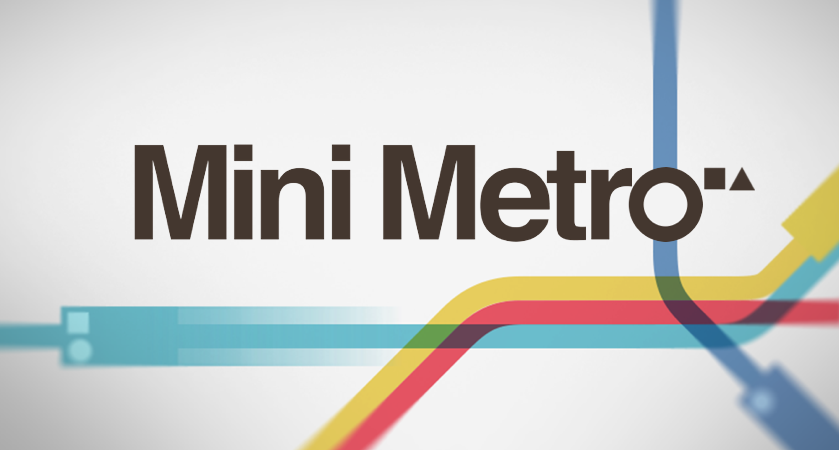 Picture of a game: Mini Metro