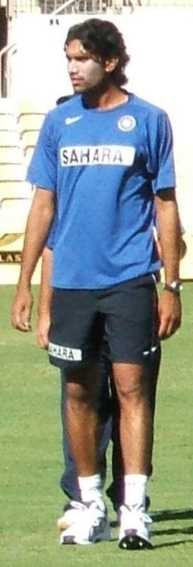 Munaf Patel at Adelaide Oval