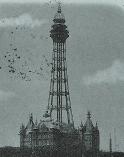 New Brighton Tower architectural structure