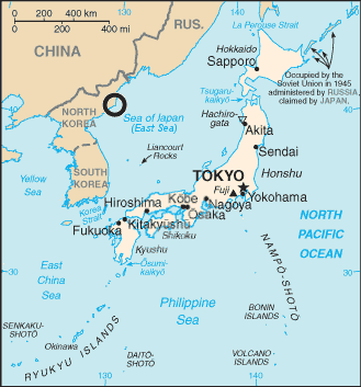 File:North Korea launch site in Sea of Japan map.png   Wikimedia