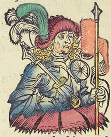 Nuremberg chronicles f 248v 3 (Franciscus sforcia)