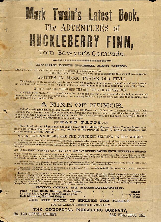 Adventure Huckleberry Finn Map