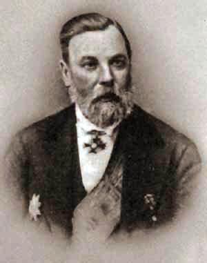 П.И.Мельников в вицмундире при наградах