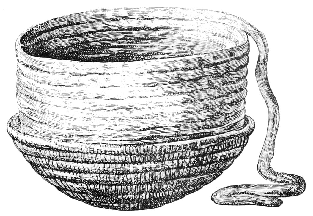 PSM V47 D105 Making coiled ware in basket bowl.jpg