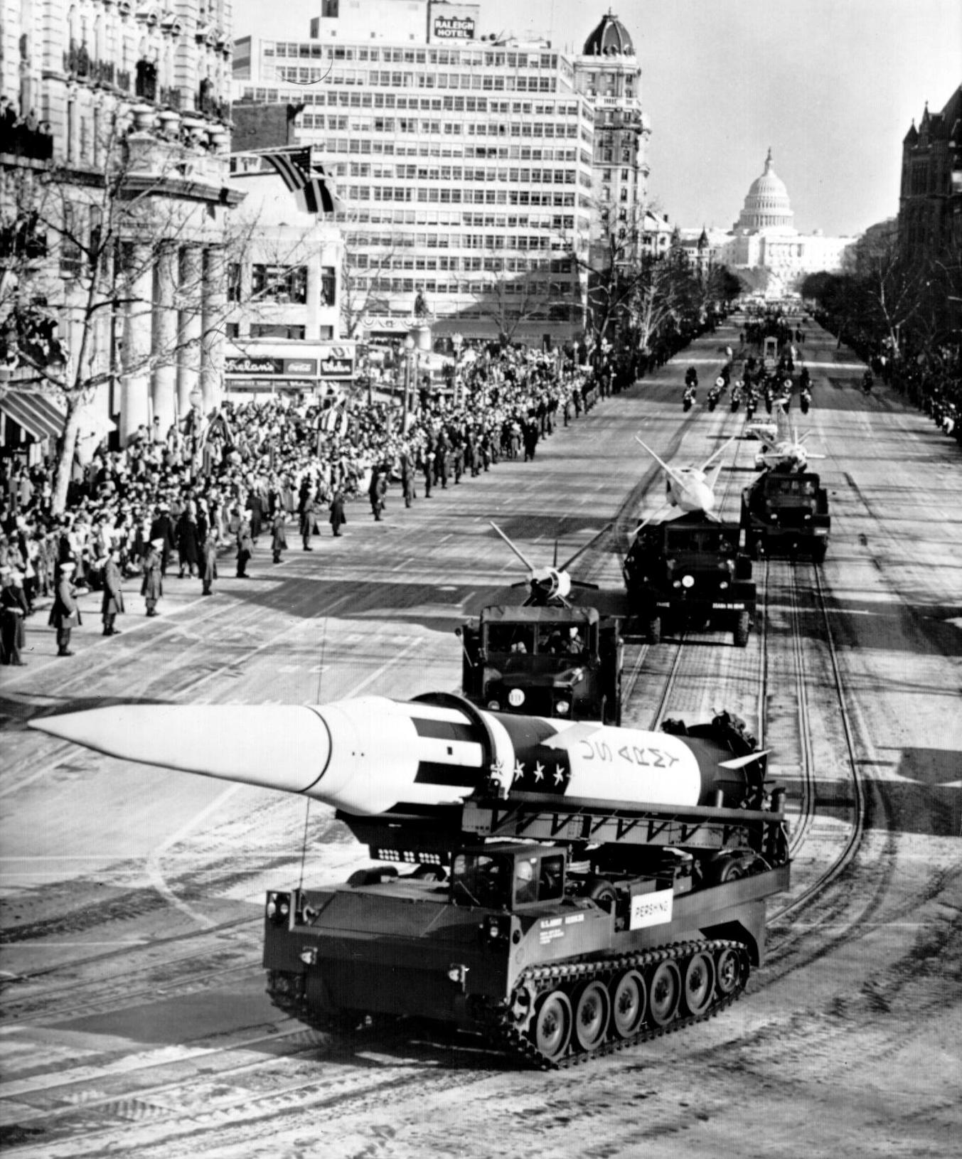 File Pershing 1 At President J F Kennedy Inaugural Parade