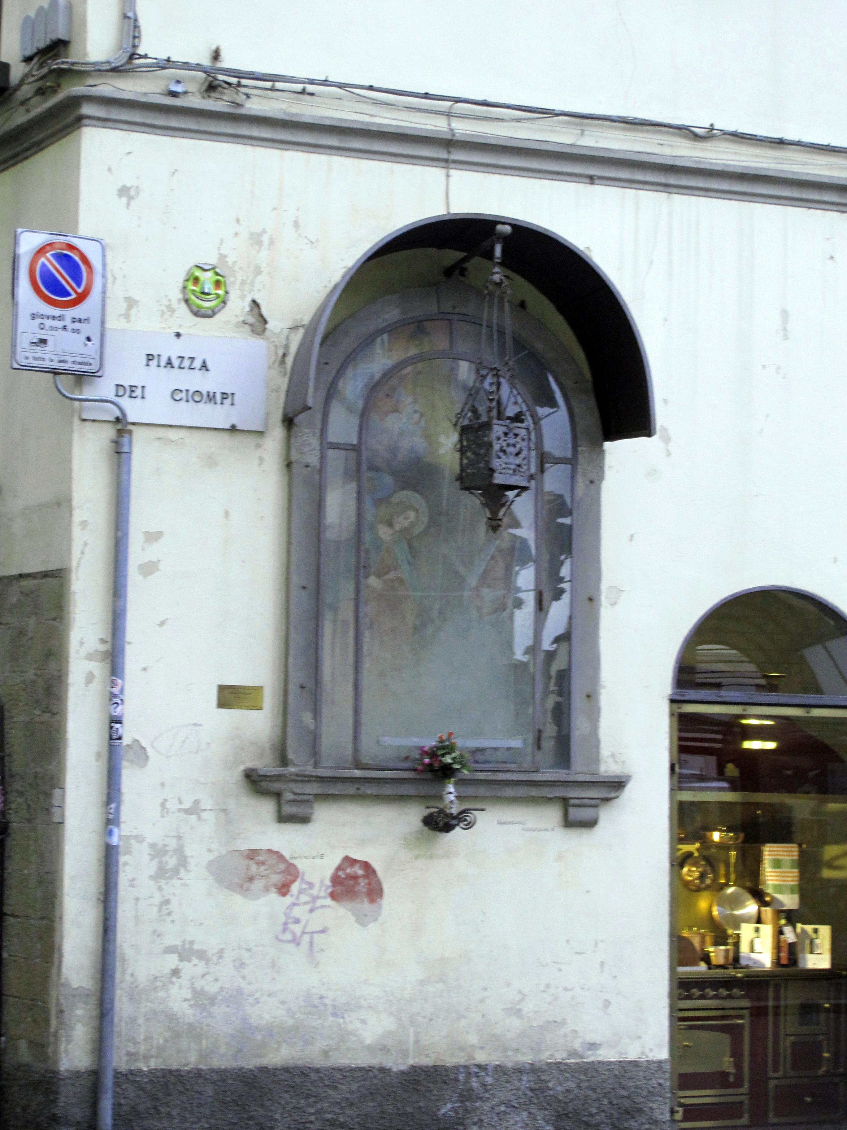 File piazza dei ciompi 1 casa con tabernacolo 02 jpg for Piazza dei ciompi