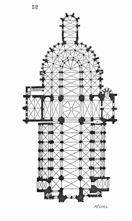 Dictionnaire raisonn de l architecture fran aise du xie au xvie si cle cath drale wikisource - La cle des temps coutances ...