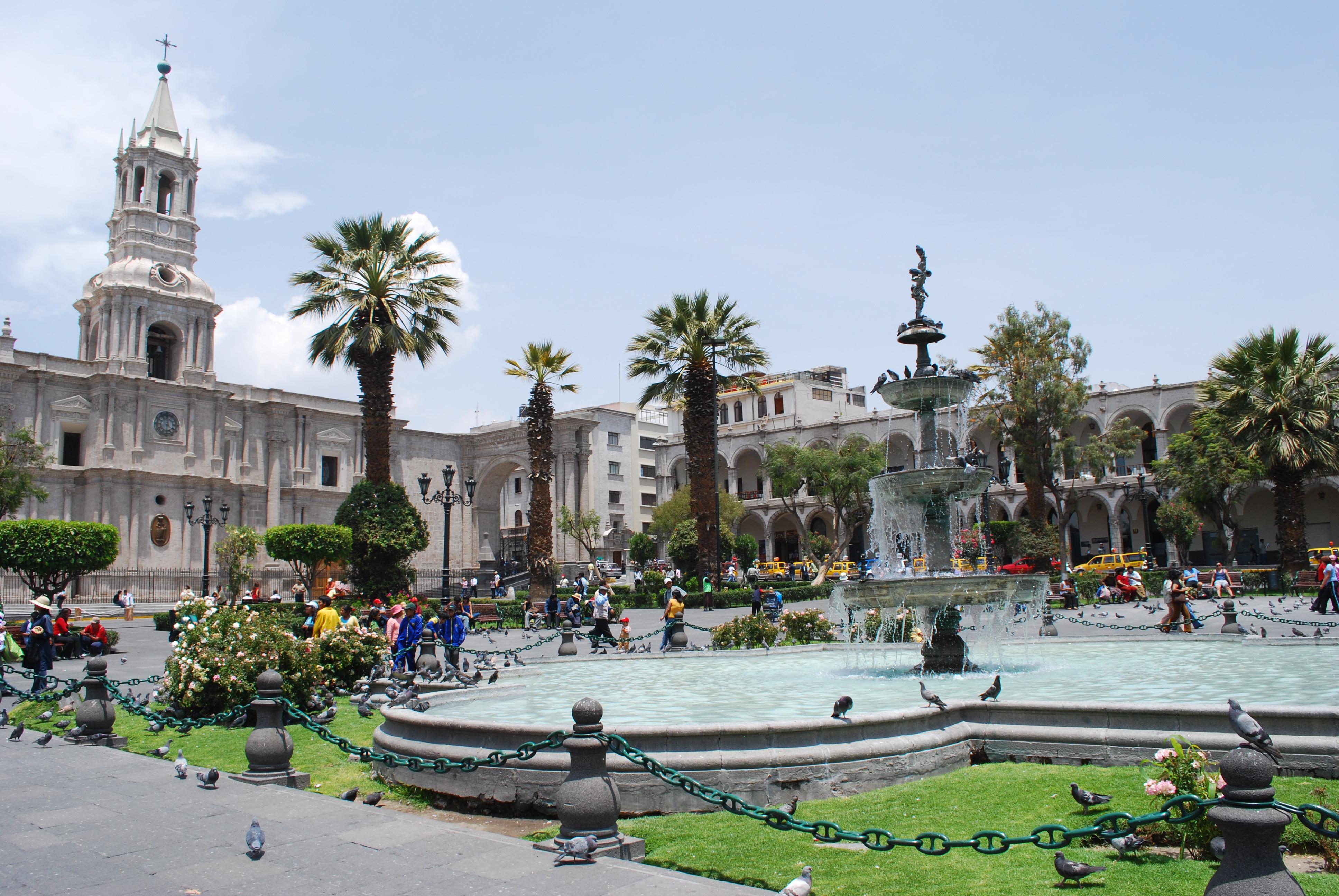 File:Plaza de Arequipa.jpg - Wikimedia Commons