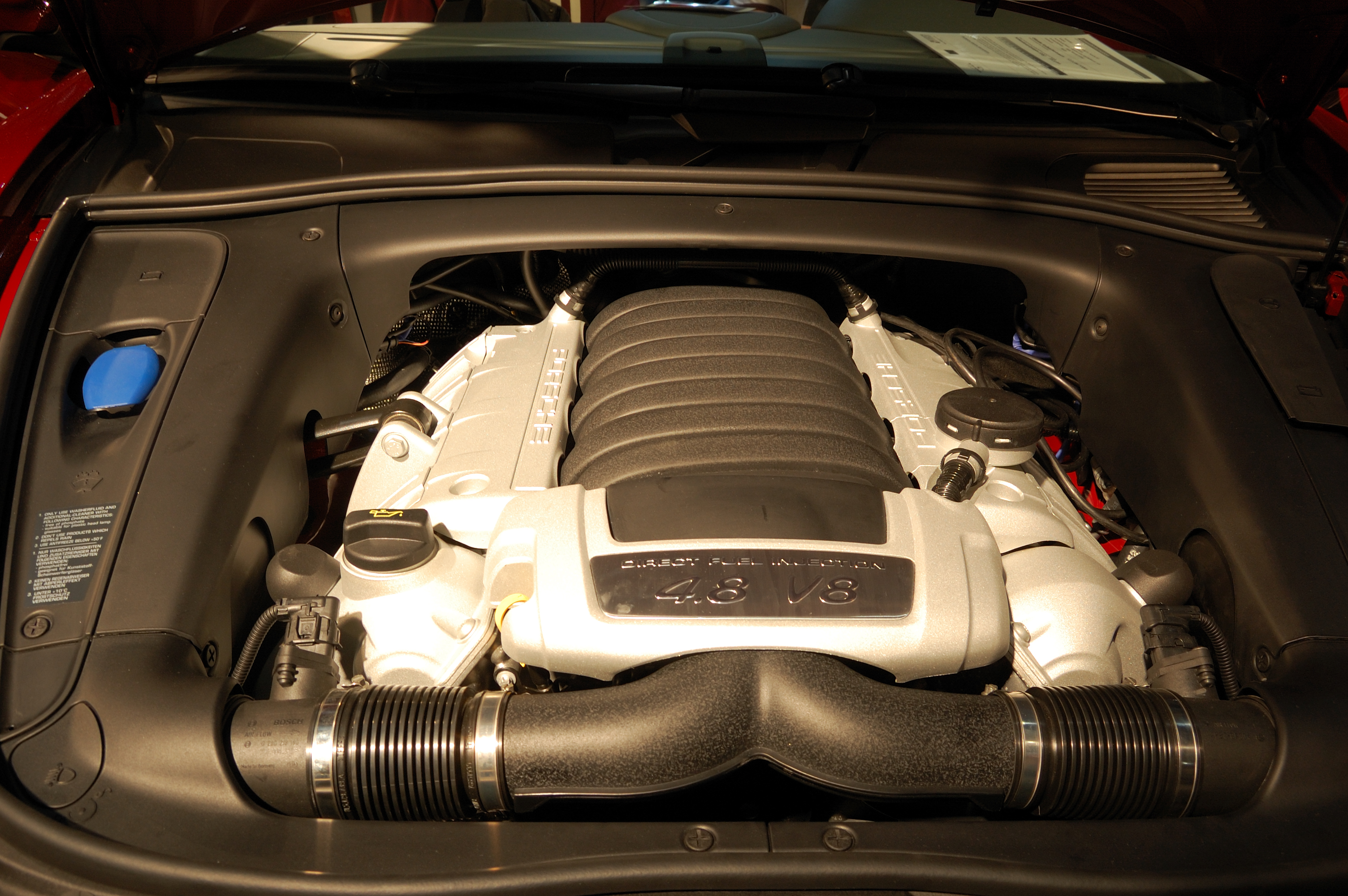 File Porsche Cayenne Engine Flickr Cha Già José Jpg