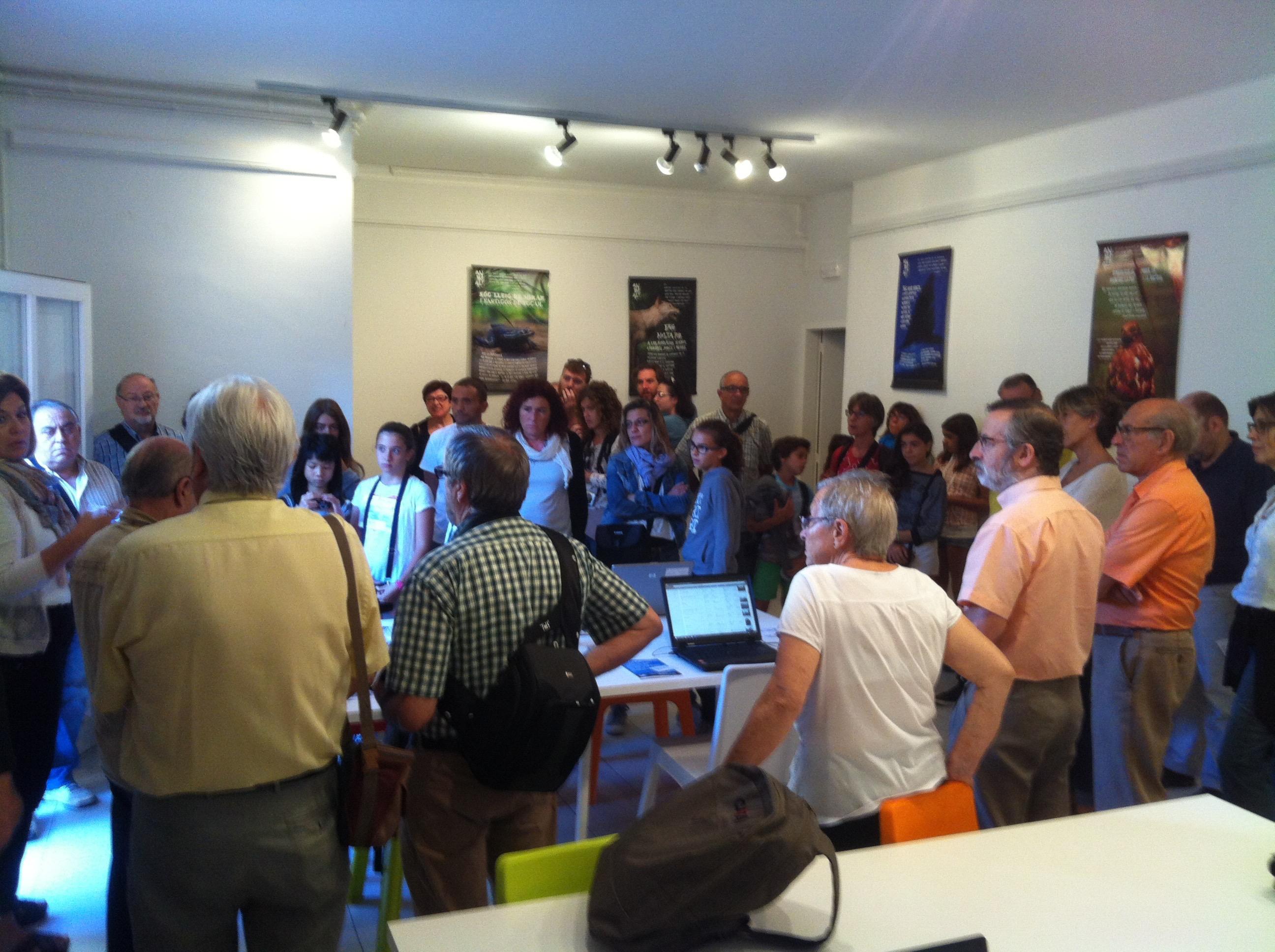 Més de 40 persones van assistir a l'acte