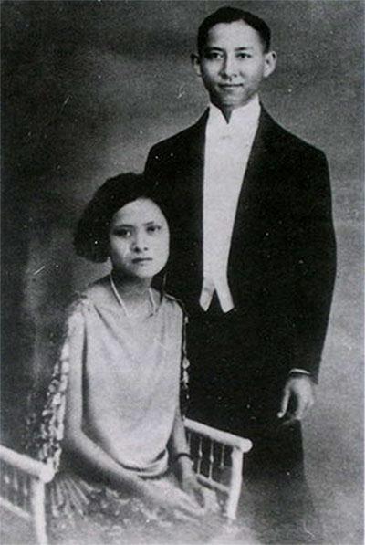 Prince Mahidol and Mom Sangwal.JPG