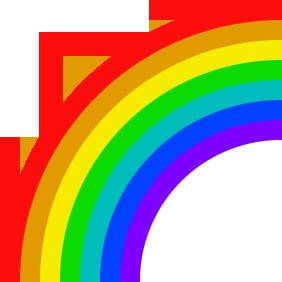 Regnbågens Färger