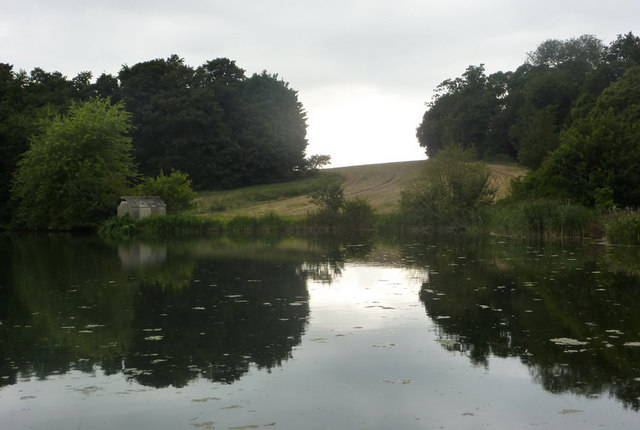 Reservoir near Chelmondiston - geograph.org.uk - 1432842