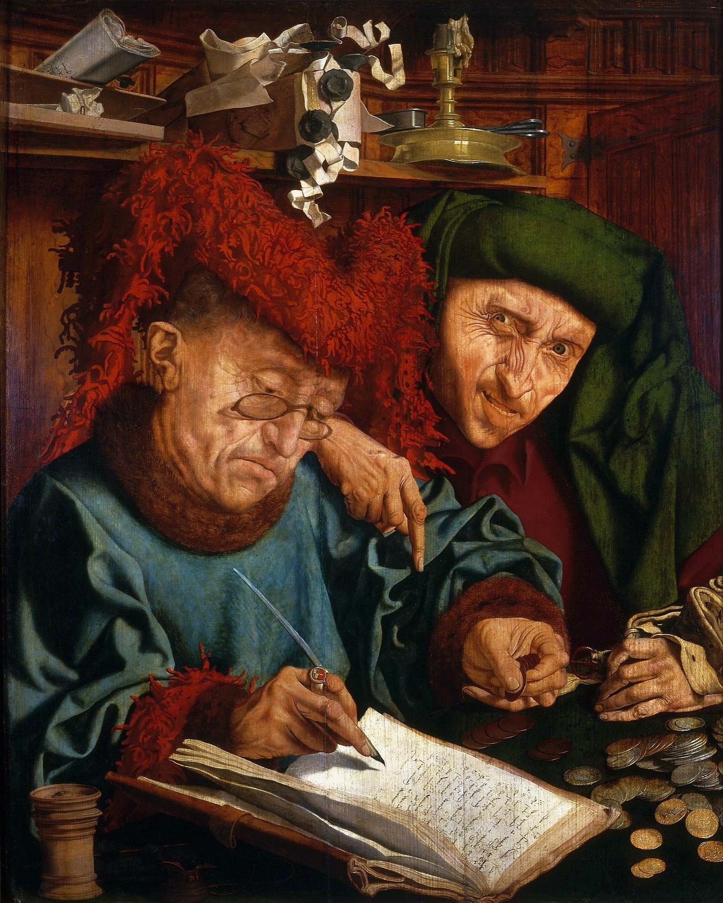 Reymerswaele Two tax collectors