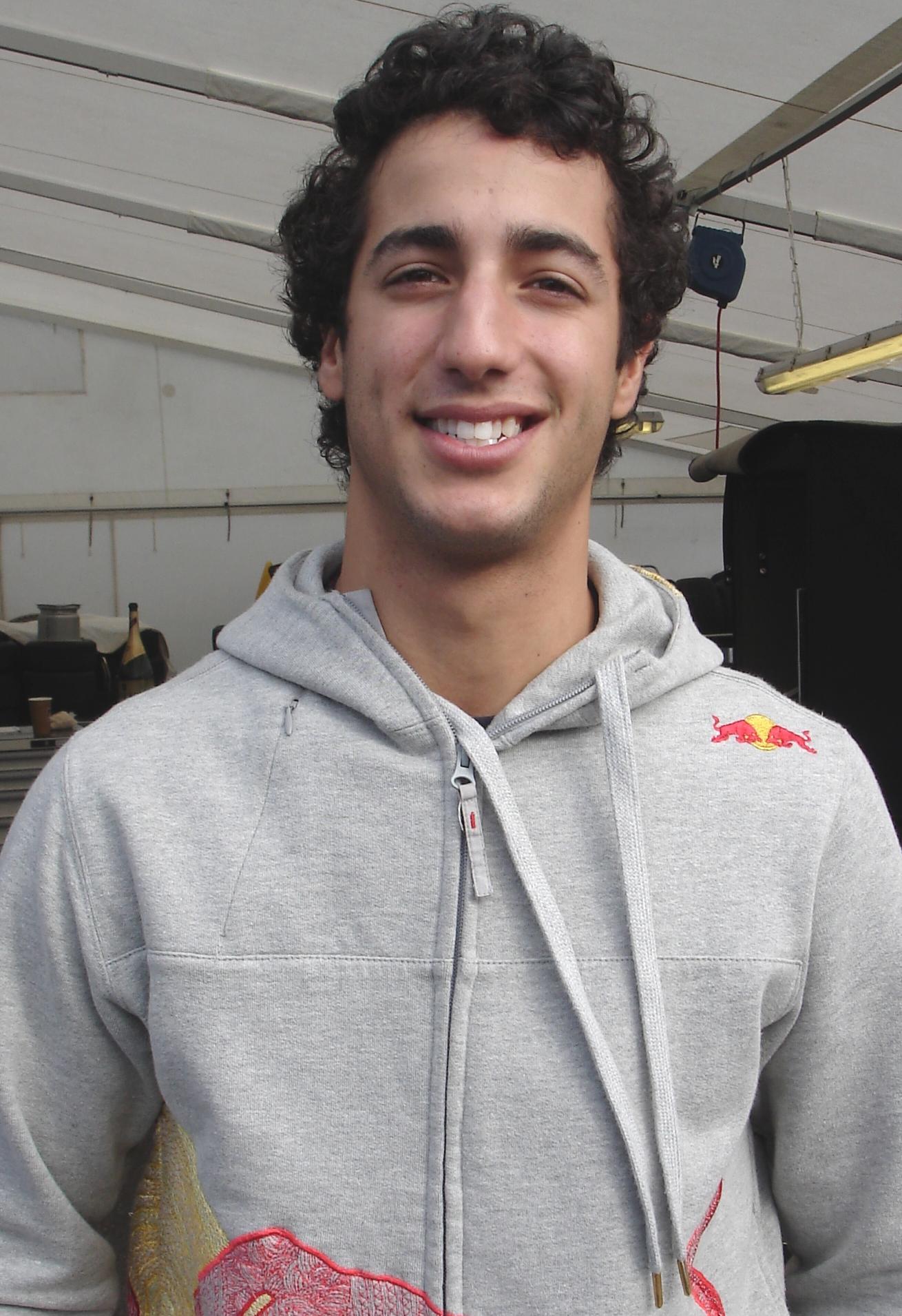 Daniel Ricciardo Größe