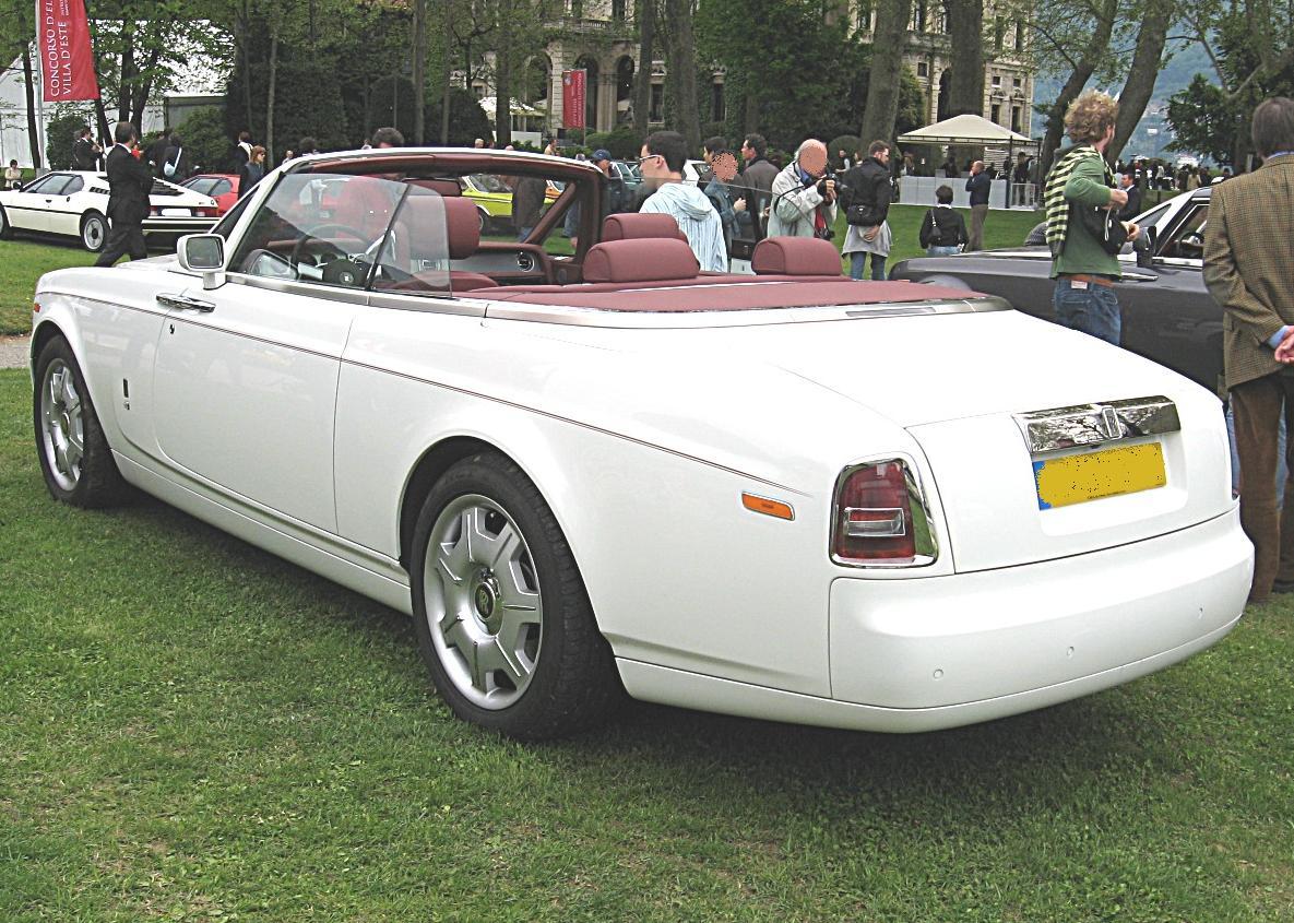 April  Rolls Royce Rollover Miami Beach