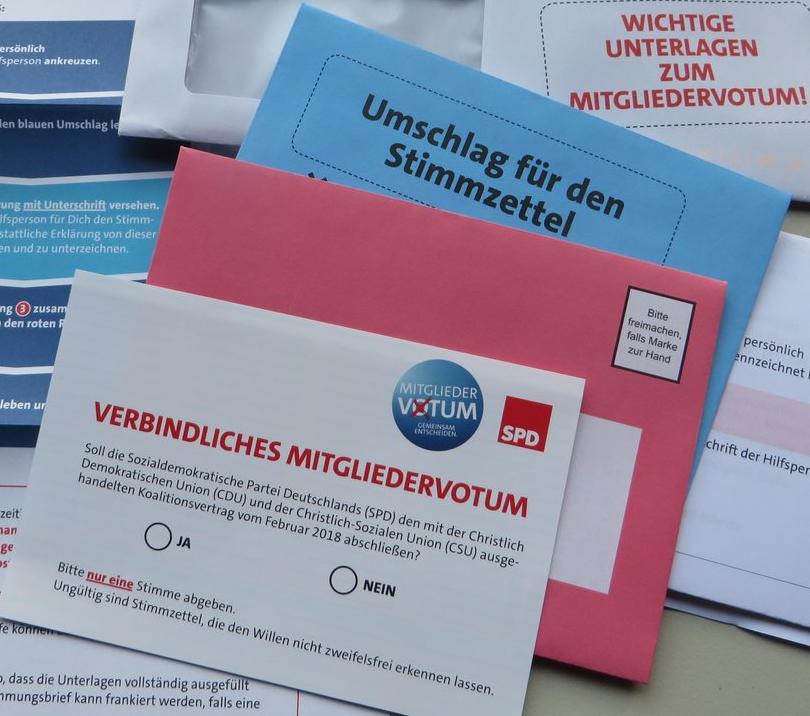 Dateispd Mitgliedervotum 2018 Abstimmungsunterlagenpng Wikipedia