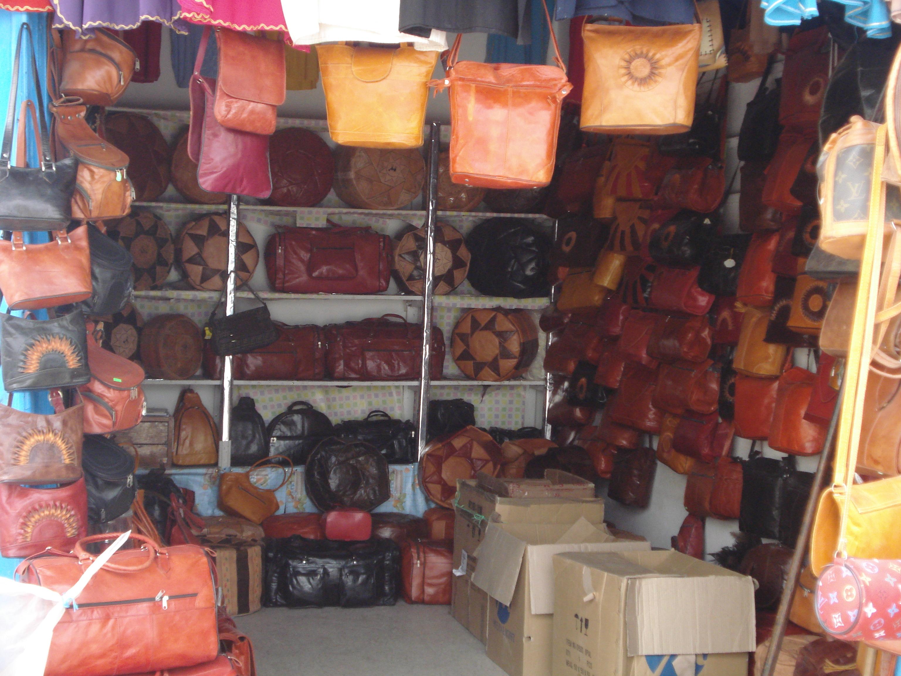 الصناعة التقليدية التونسية Sacs_Kairouan
