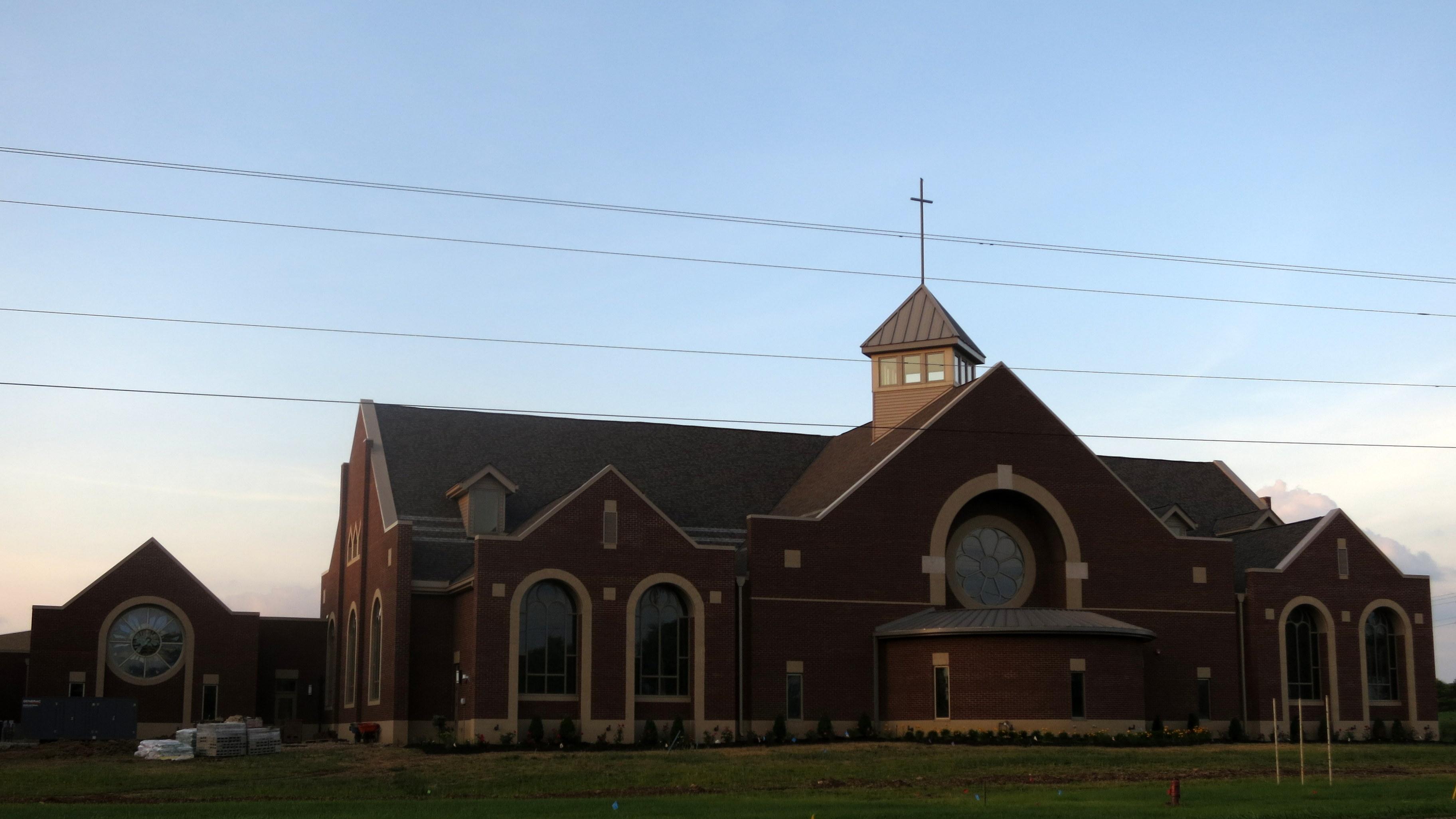 Filesaint John Neumann Church Sunbury Ohio Completed Expansion Summer