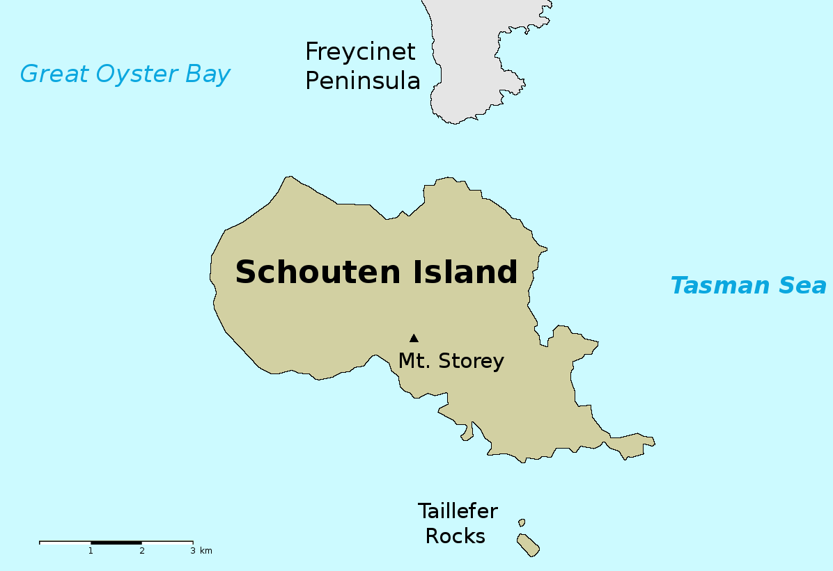 Government Island Map